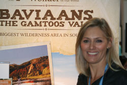 Rene Scheepers from Eastern Cape Tourism.