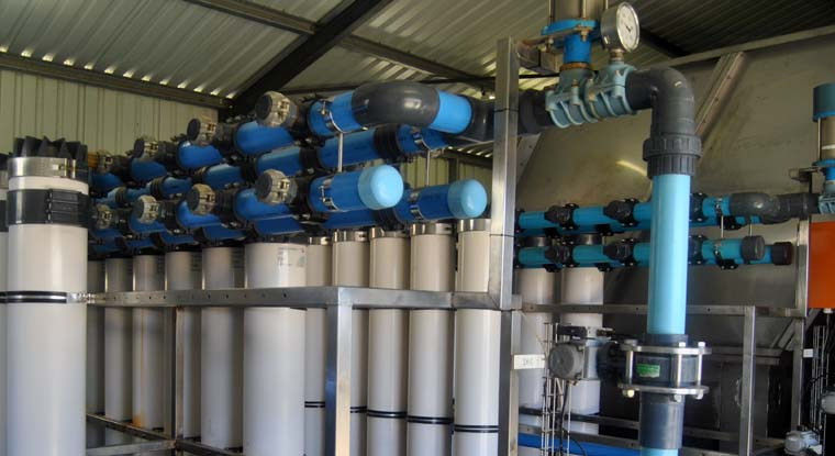 Ikusasa - works in the fields of water purification and desalination